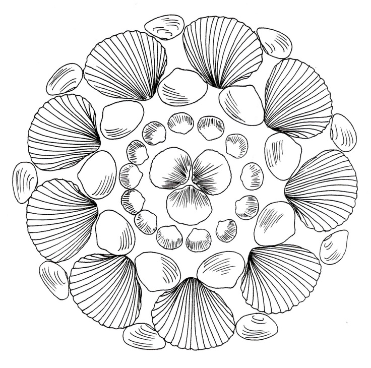 pin karin dijk op zomer kleurplaten mandala
