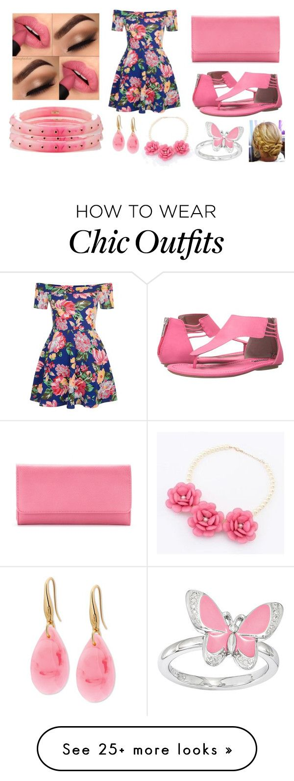 """""""Hit like!"""" by sarah-michelle-steed on Polyvore featuring New Look, Michael Antonio, Mark Davis, Croft & Barrow, GUESS and Glitglow"""