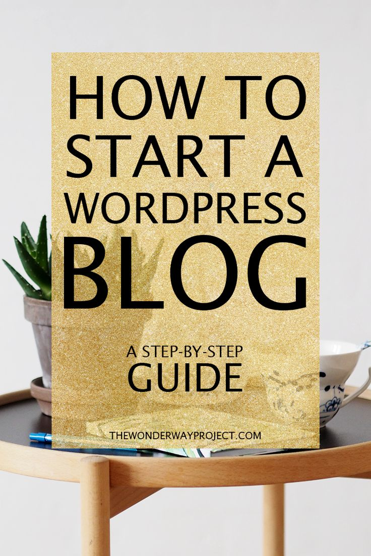 A beginner's guide on how to start a wordpress blog! An easy step-by-step tutorial + how to choose your blog name and how to create your header. ---> CLICK THROUGH TO THE BLOG TO READ THE WHOLE POST!