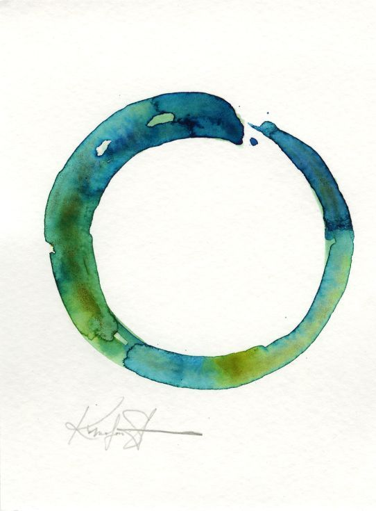 Original Enso Zen Painting Throw Pillows: 104 Best Enso Obsession Images On Pinterest