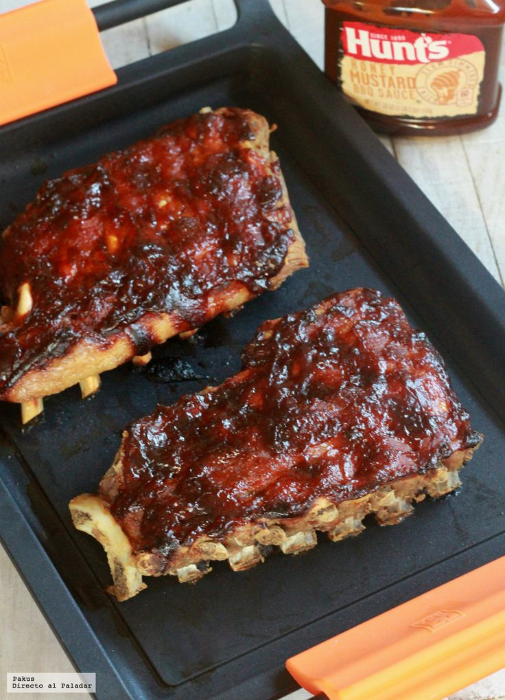 BBQ Ribs New York, la receta definitiva de costillas de cerdo a la barbacoa
