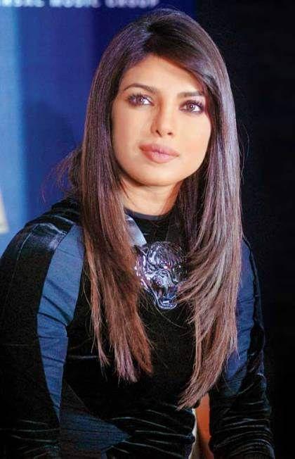 priyanka chopra feather cut for long hair