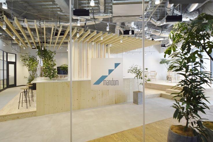 オフィスデザイン実績~サードプレイス ‐様々なはたらき方でアイデアを創造できるオフィス空間‐