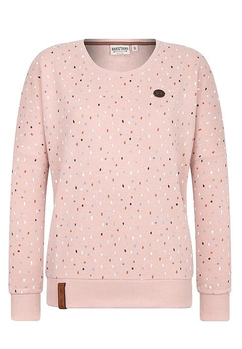 Vêtements Naketano Sweatshirt - dusty pink melange rose chiné: 44,99 € chez Zalando (au 19/11/17). Livraison et retours gratuits et service client gratuit au 0800 915 207.