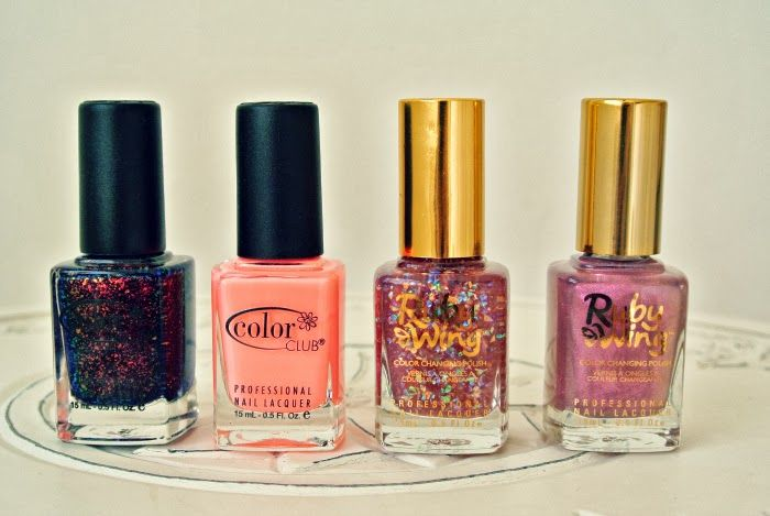Stunning Fall #nailpolish collection from #ColorClub and #RubyWing see swatches and review at Pretty Squared: Color Club and Ruby Wing Nail Polish www.prettysquared... #bbloggers #beauty #nails #nail #polish #glitter #coral #pretty #review #nailart #pink #beautiful