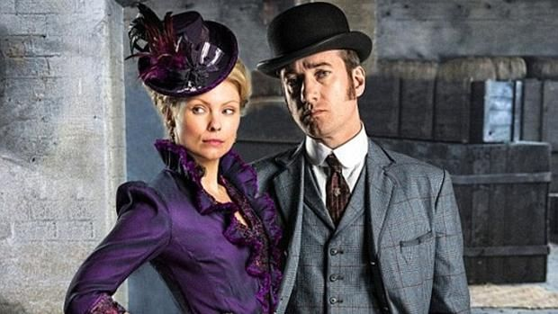 We chatted to Ripper Street's Reid and Susan, aka Matthew Macfadyen and MyAnna Buring, ahead of this week's series 4 Amazon premiere…