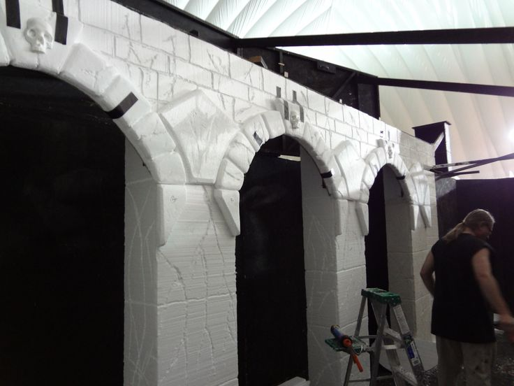 haunted house sets here is a room we did for a local haunted house in chicago