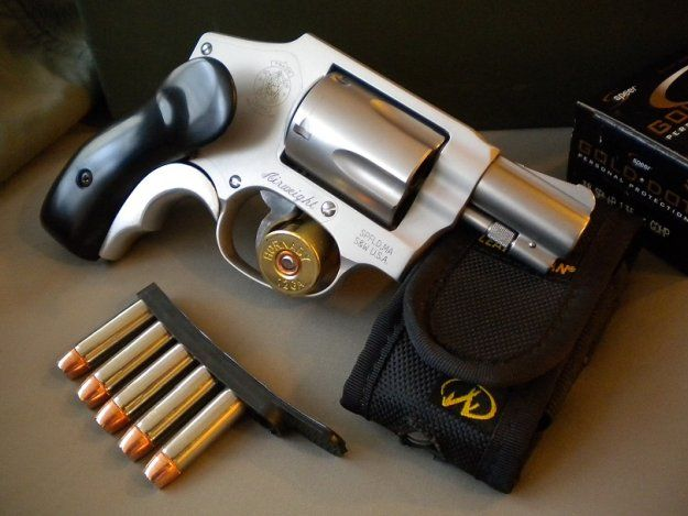 Smith & Wesson Model 638 | The Best Concealed Carry Guns For Women | https://guncarrier.com/best-concealed-carry-guns-for-women/