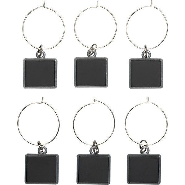 20 best entertaining wine charms images on pinterest wine glass easter hostess gifts set of 6 chalkboard wine charms at crate and barrel negle Choice Image