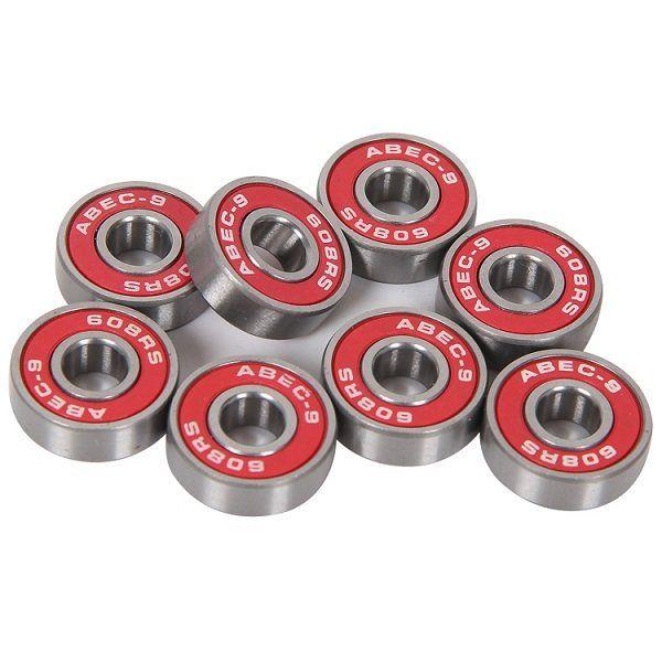 skateboard wheel bearings. 10pcs abec-9 dustproof skateboard bearings install component parts wheel b