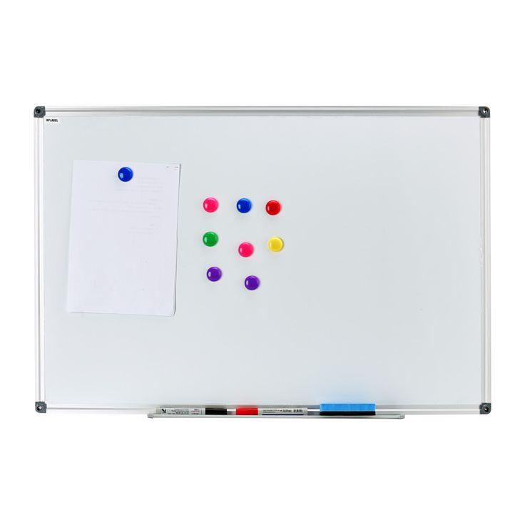 """Menghapus kering Magnetic Drywipe Whiteboard 48 """"x36"""" Perak Aluminium Bingkai 122 cm x 91 cm Perhatikan Papan Memo kantor Sekolah Rumah Putih papan"""