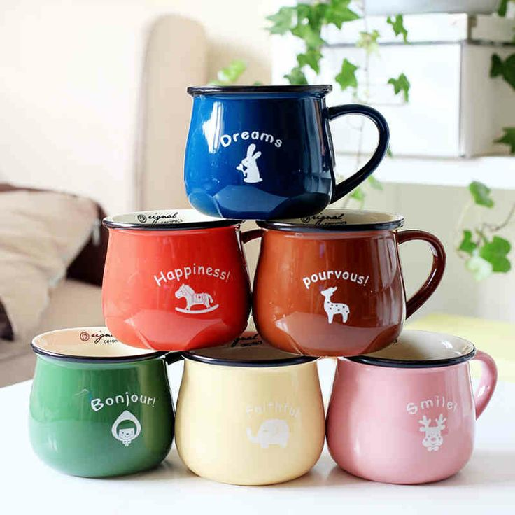 America should space cartoon Cup / Milk Cup / breakfast cup / Creative cup zakka mug-tmall.com Lynx