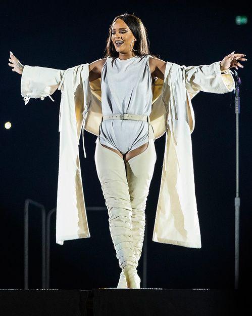 Rihanna style mode En Adam Selman