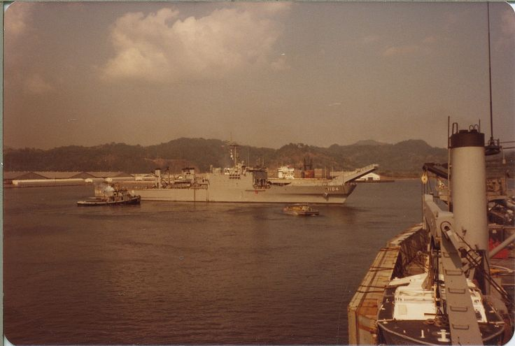 SUBIC BAY, THE PHILIPPINES: 1981