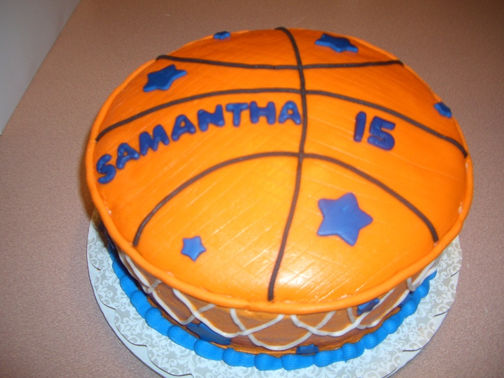 Image Basketball Cake
