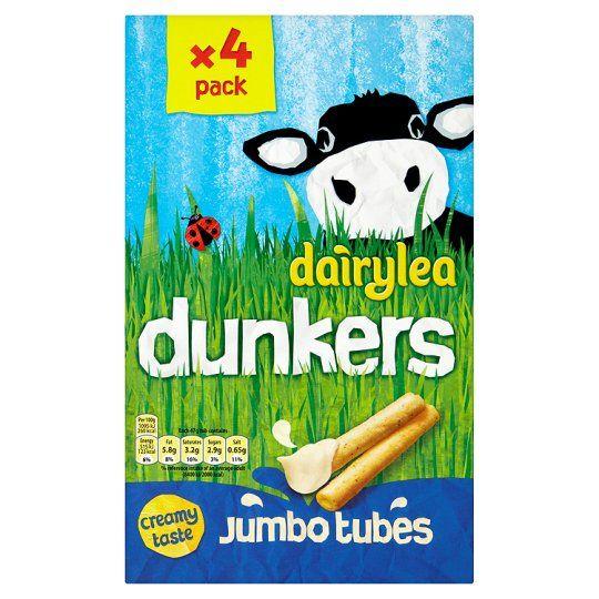 Dairylea Dunkers Jumbo Chipsticks (4X47g)