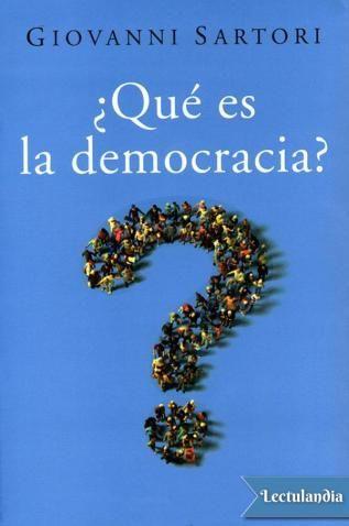 Definir la democracia es importante para establecer qué esperamos de ella. Éste es el objetivo del libro y para ello Sartori dialoga consigo mismo, con Aristóteles, Locke, Rousseau, Marx… y con el lector: reflexiona sobre la democracia, el liberali...