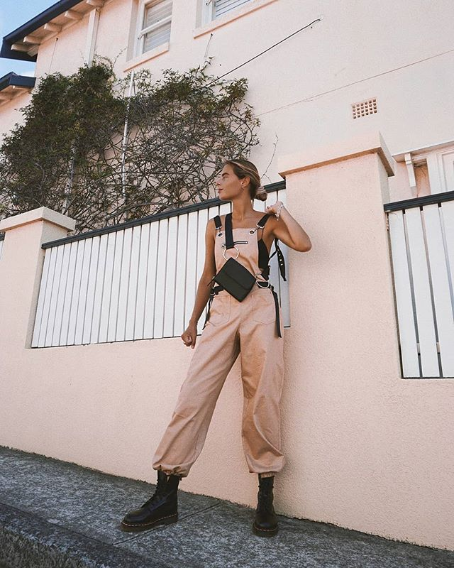 cfdaf514f54c BADASS BABE ☆ Spotted   sannehedwig in our I.AM.GIA Cobain Overalls 〰 Shop  her look online now