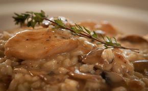 Ριζότο με πράσο, μανιτάρια και κοτόπουλο - ΓΡΗΓΟΡΕΣ ΣΥΝΤΑΓΕΣ - news.gr