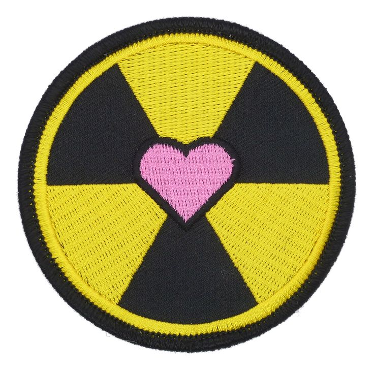 "Want to support the new Ghostbusters Reboot? Show your love with this 'Nuclear Love' patch! Measures 3"" inches in diameter and is professionally embroidered with an iron on backing!    *Note production sample shown, final product may differ in color and design."
