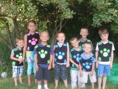 wild kratts birthday party: Favor Bags, Kratts Birthday, Game, 6Th Birthday Parties, Costumes Ideas, Birthday Party, Birthday Ideas