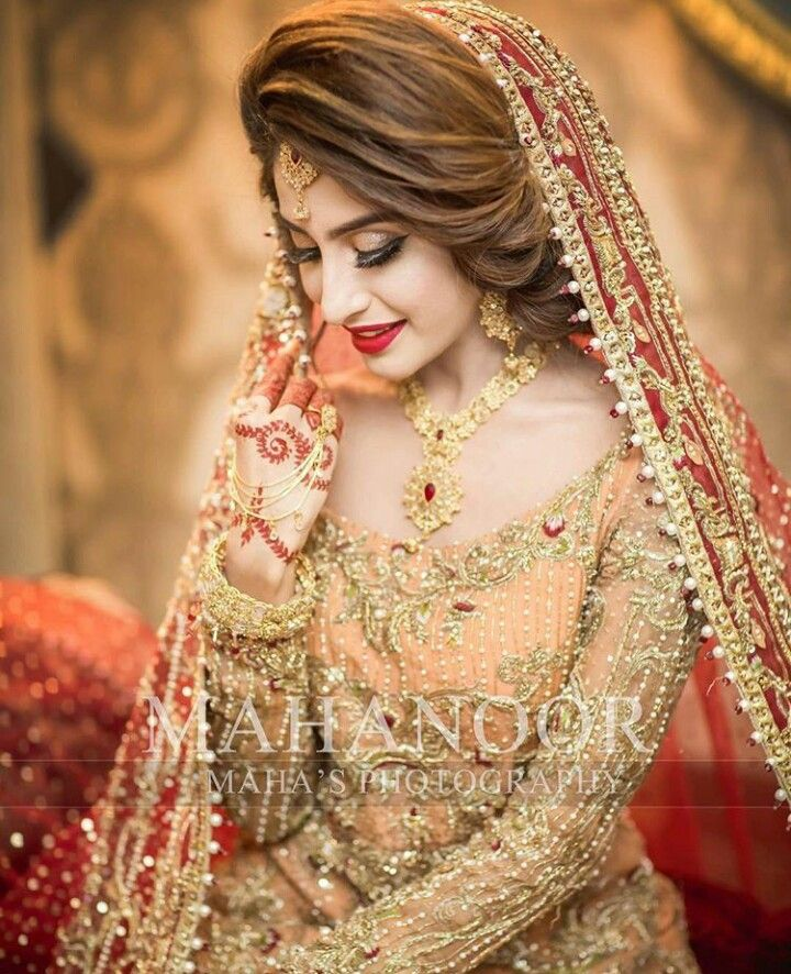 Pakistani Bridal Makeup, Indian Bridal Photos