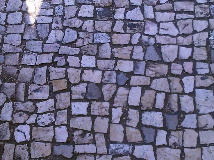 Cobblestone streets of Lisbon