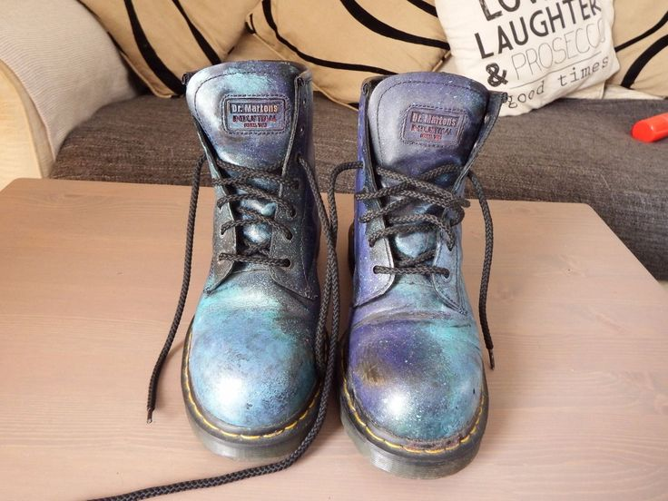 Galaxy Dr Marten Steel Toe Boots UK8 | eBay