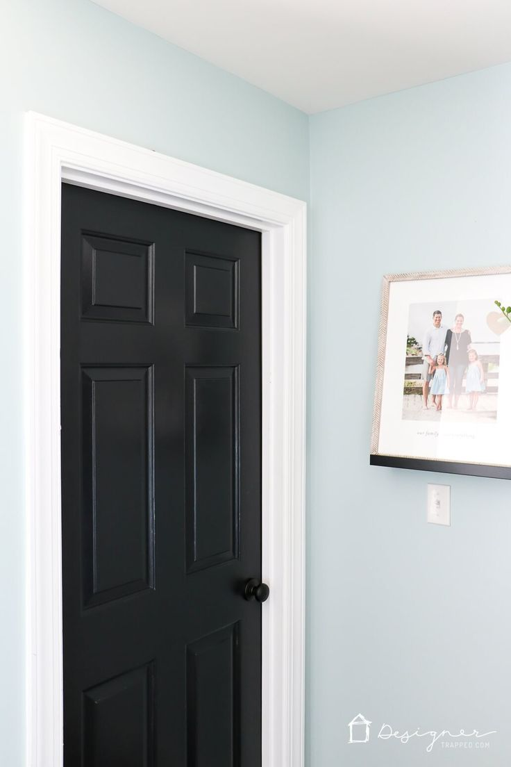 Best 25 black interior doors ideas on pinterest black doors love the idea of black interior doors for an affordable interior update all you have eventelaan Choice Image