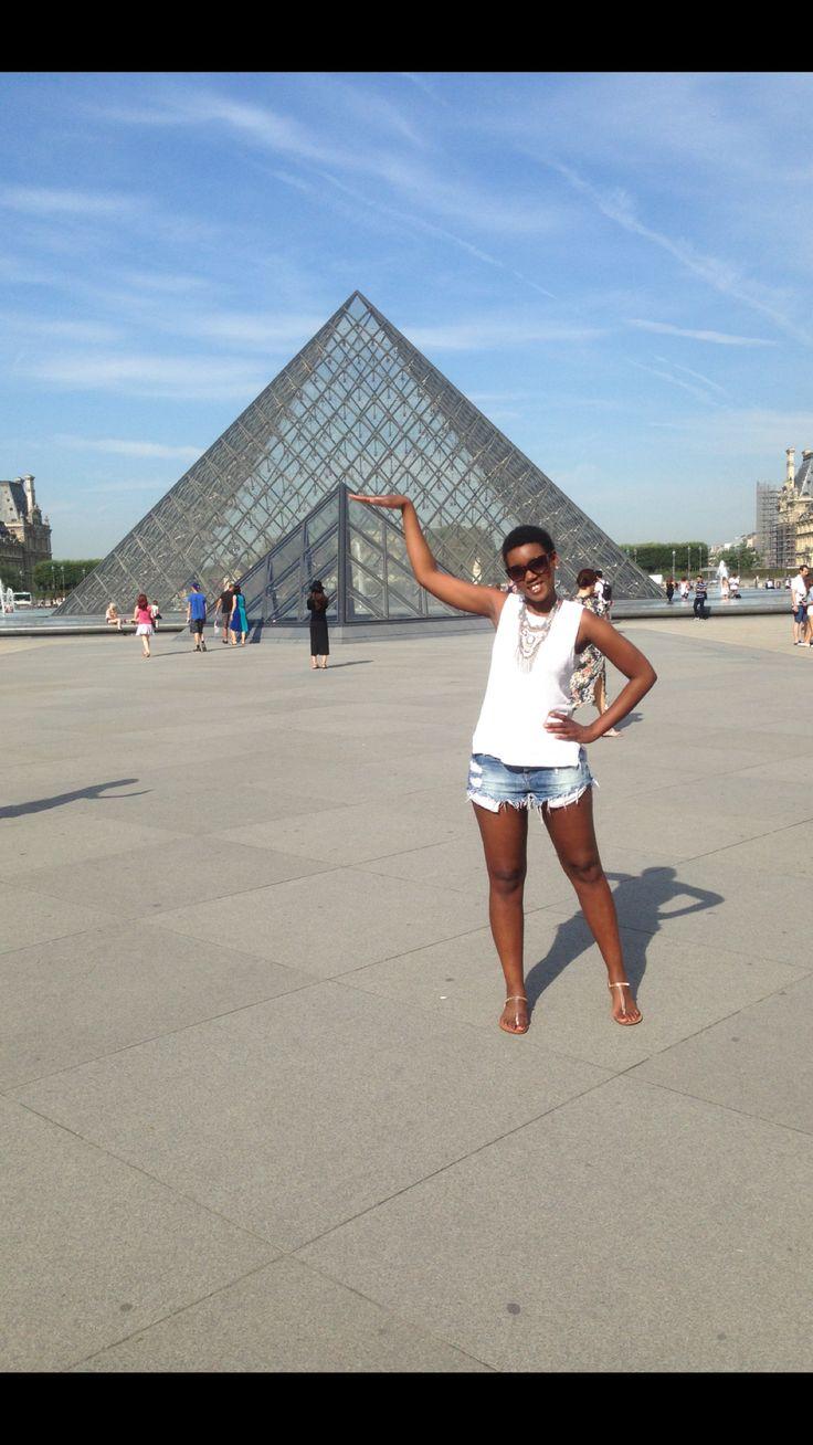 Louvre Paris - Te Amo