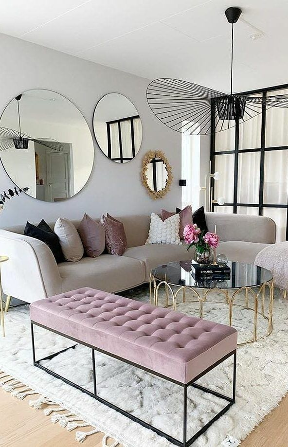38 Amazing And Cool Living Room Design Ideas Page 5 Of 34 Living Room Mirrors Living Room Decor Apartment Living Room Inspiration