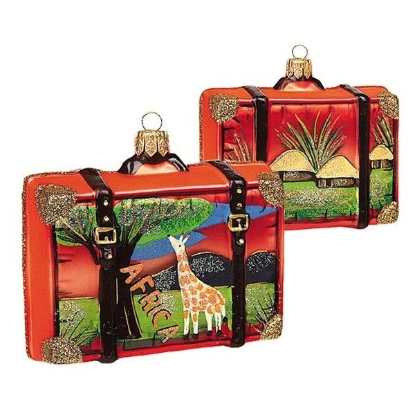 Nordstrom At Home Travel Suitcase Ornament 28 Liked On