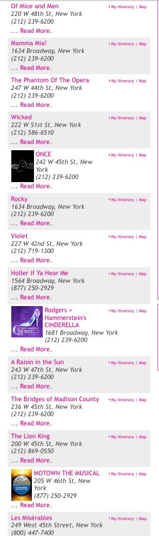 the 25 best shows on broadway ideas on pinterest beautiful