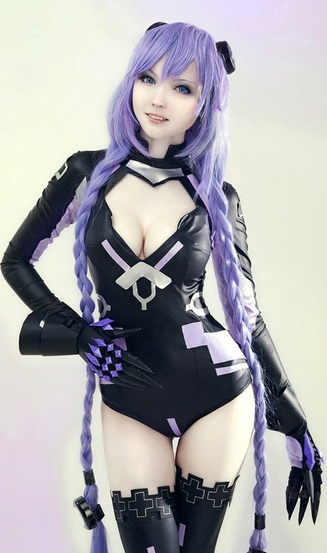 Neptunia from Hyper Dimensional Neptunia ps3 game Sexy #Cosplay