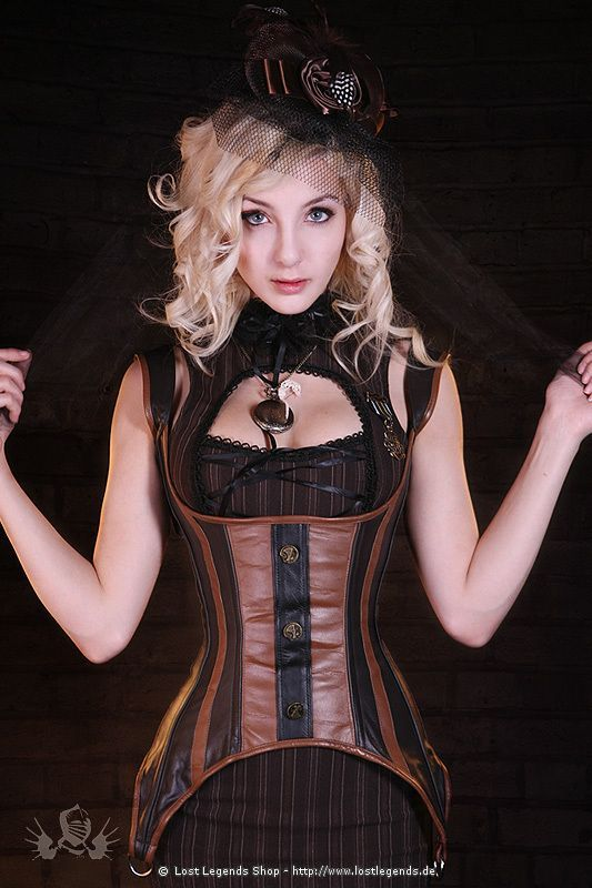 underbust corset, for sale: here