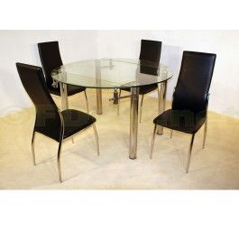 384 99   Heartlands Furniture Munich Extending Glass Dining Table with 4  Lazio Chairs25 best Glass Extending Dining Set images on Pinterest   Dining  . Extending Glass Dining Table And Chairs. Home Design Ideas