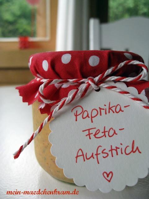 Paprika Feta Aufstrich