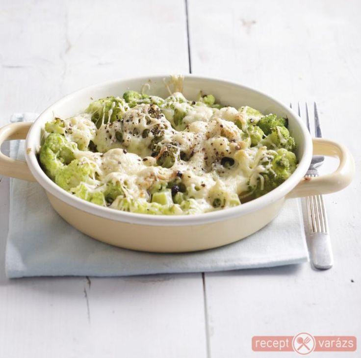 Sajtos rakott brokkoli recept Készítsd el akár 2, vagy 12 főre, a Receptvarazs.hu ebben is segít!