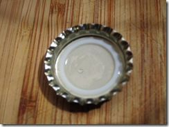 tutorial--how to prepare and flatten bottle caps for crafting
