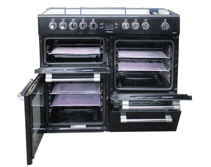 Leisure Electric Range Cooker Cookmaster CK100C210K 100cm in Black #2094