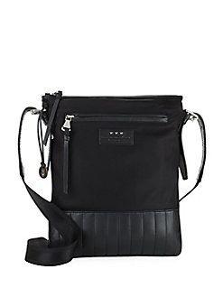 John Varvatos - Remy Leather Crossbody Bag