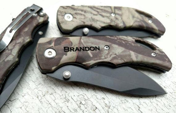 CAMO KNIFE  This is a great size knife perfect for the camo guy or girl! Great size for pocket.  Everyone loves the SPRING ASSISTED