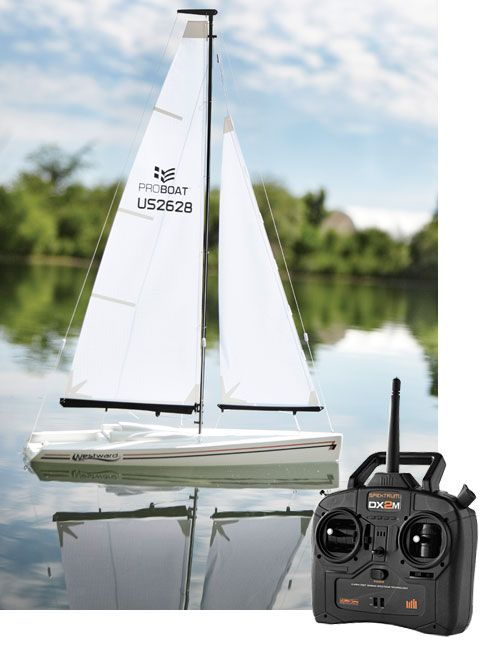 RC Sailboat - Westward Remote-Control Sailboat -- Orvis on Orvis.com!