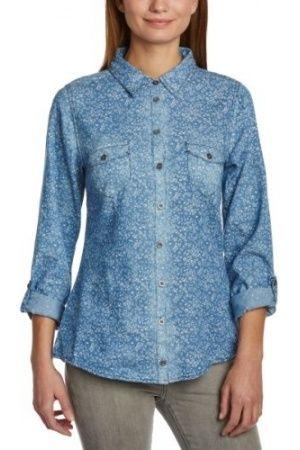 Camisas de mujer - Camisa con estampado floral de manga larga para mujer