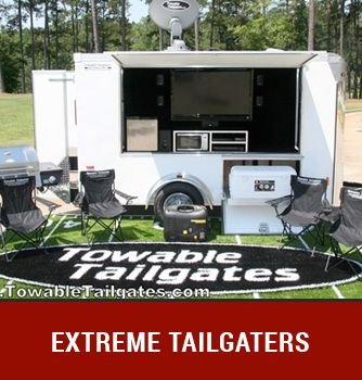 Towable Tailgates - Tailgating Trailers, Tailgate Trailer - 1-877-7-TOWABLE: Tailgate Trailers