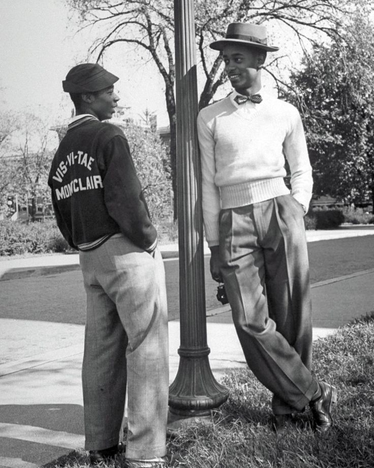 Vintage portraits at historically black Howard University, in 1946