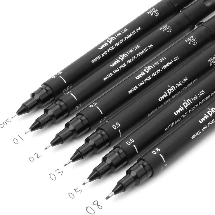 $1.10 (Buy here: https://alitems.com/g/1e8d114494ebda23ff8b16525dc3e8/?i=5&ulp=https%3A%2F%2Fwww.aliexpress.com%2Fitem%2F6PCS-fineliner-Pigma-Micron-Drawing-Pen-005-01-02-03-04-05-08-Brush-Waterproof-Manga%2F32581367565.html ) fineliner Pigma Micron Drawing Pen 005 01 02 03 04 05 08 Brush Waterproof Manga anime comic Pen NOT staedtler durable 308 for just $1.10