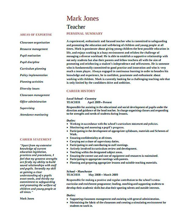 Format Of Making Resume. Best 25+ Sample Resume Ideas On Pinterest