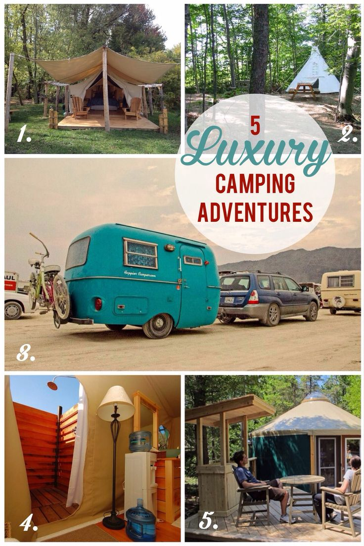 {Try} 5 Luxury Camping Adventures in Rural Ontario
