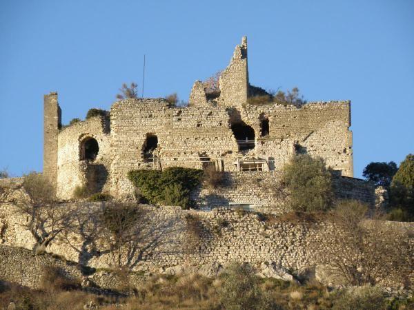 le château d'Entrechaux